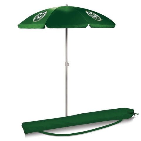 Colorado State Rams 5.5' Portable Beach/Picnic Umbrella in Hunter Green