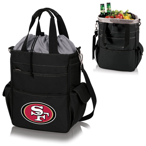 San Francisco 49ers Activo Cooler Tote in Black