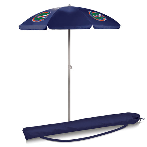 Florida Gators 5.5' Portable Beach/Picnic Umbrella in Navy