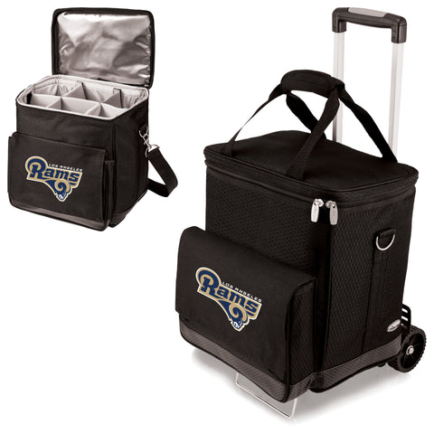 Los Angeles Rams Cellar Wine Cooler w/Trolley