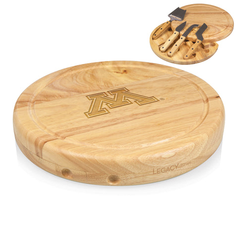 Minnesota Golden Gophers Circo Cheese Board and Tools Set