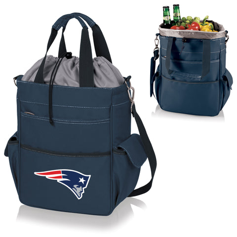 New England Patriots Activo Cooler Tote in Navy