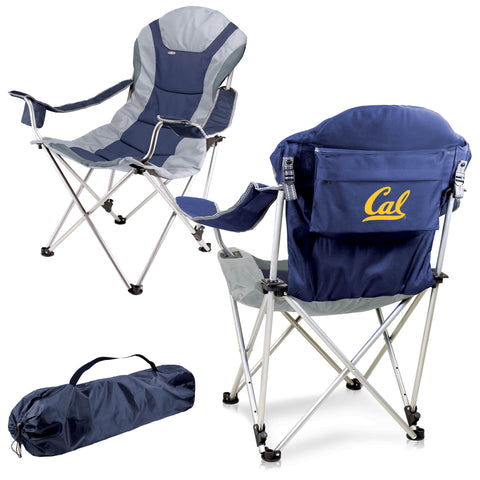 Cal Bears Reclining Camp Chair in Navy