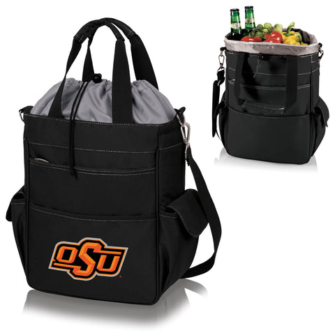 Oklahoma State Cowboys Activo Cooler Tote in Black