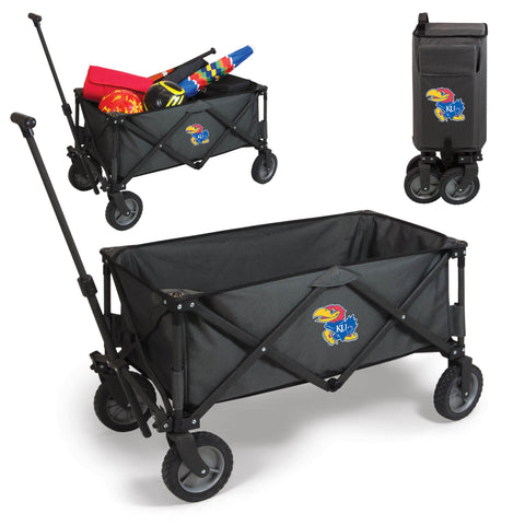 Kansas Jayhawks Adventure Wagon in Dark Grey