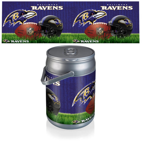 Baltimore Ravens Can Cooler in Football Design