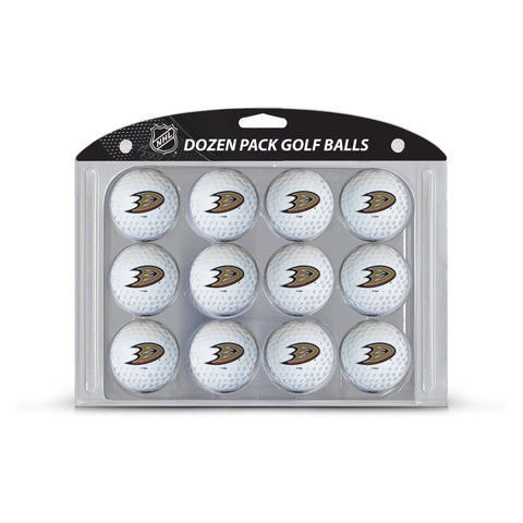 Anaheim Ducks Golf Balls, 12 Pack