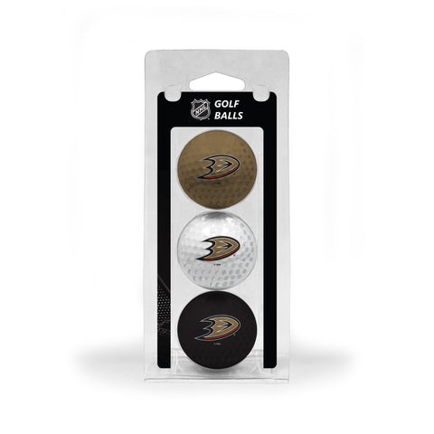 Anaheim Ducks 3 Golf Ball Pack