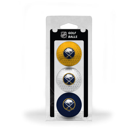 Buffalo Sabres Golf Ball 3 Pack