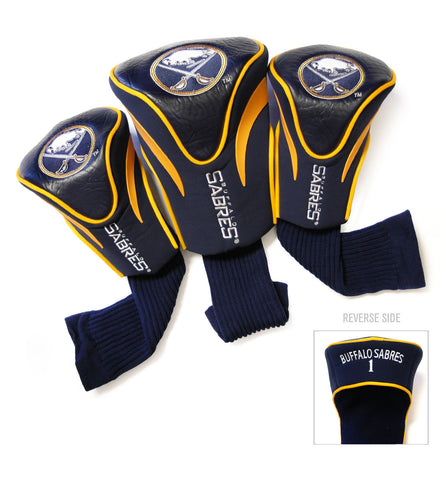 Buffalo Sabres 3 Pack Contour Head Covers