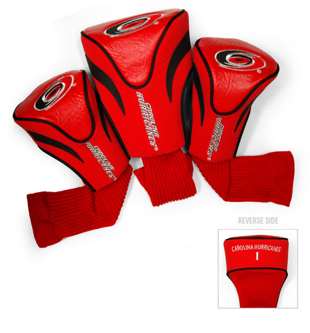 Carolina Hurricanes 3 Pack Contour Head Covers