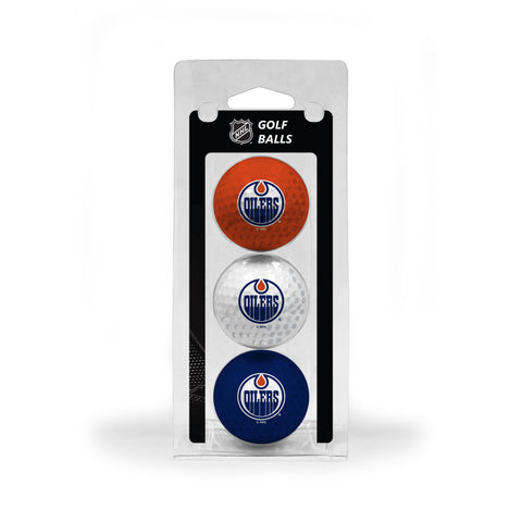 Edmonton Oilers 3 Golf Ball Pack