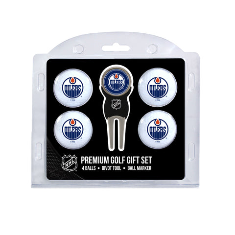 Edmonton Oilers 4 Golf Ball And Divot Tool Set