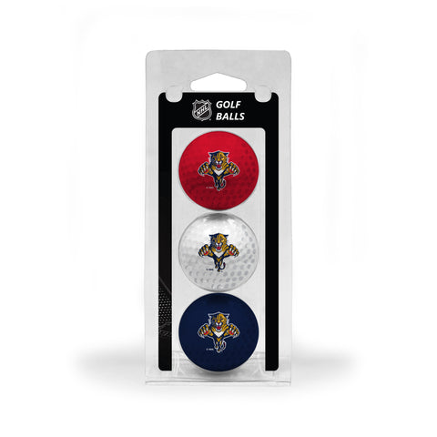 Florida Panthers 3 Golf Ball Pack