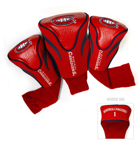 Montreal Canadiens 3 Pack Contour Head Covers