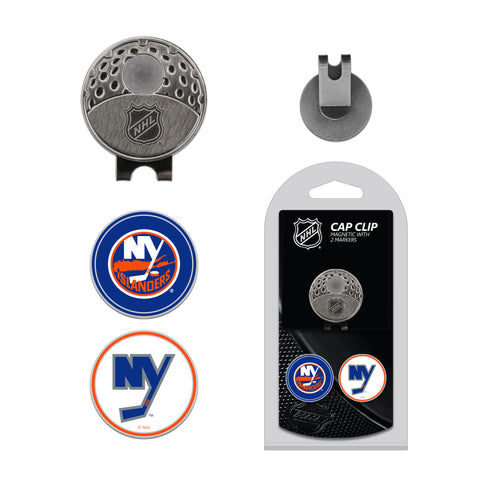 New York Islanders Cap Clip With 2 Golf Ball Markers