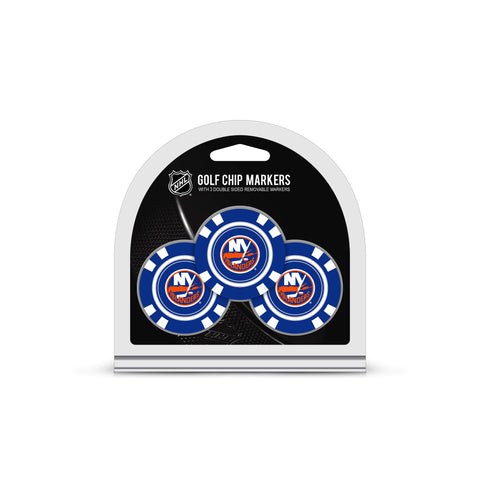 New York Islanders 3 Pack Golf Chip Ball Markers
