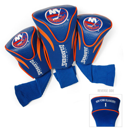 New York Islanders 3 Pack Contour Head Covers