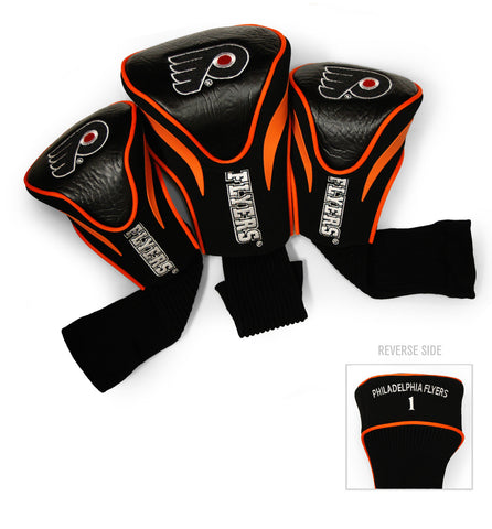 Philadelphia Flyers 3 Pack Contour Head Covers