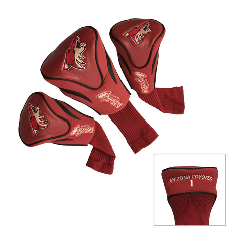 Arizona Coyotes 3 Pack Contour Head Covers
