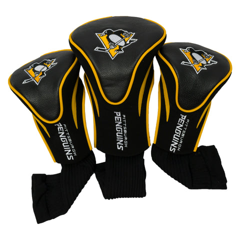 Pittsburgh Penguins 3 Pack Contour Head Covers