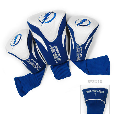 Tampa Bay Lightning 3 Pack Contour Head Covers