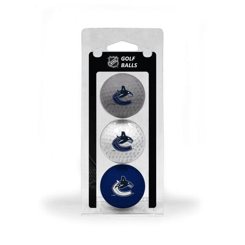 Vancouver Canucks 3 Golf Ball Pack