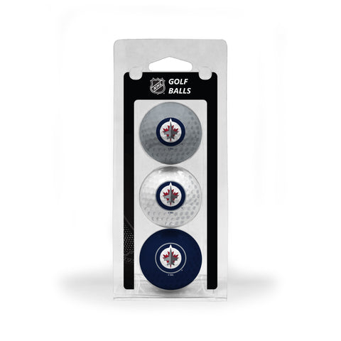 Winnipeg Jets 3 Golf Ball Pack