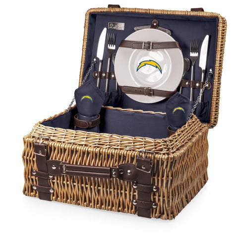 Los Angeles Chargers Champion Picnic Basket