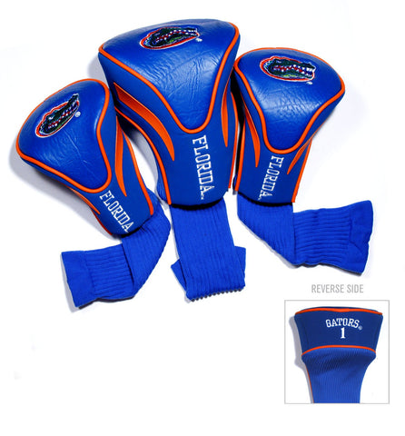 Florida Gators 3 Pack Contour Head Covers