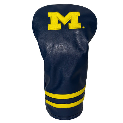 Michigan Wolverines Vintage Driver Head Cover