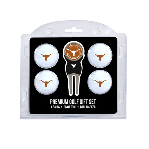 Texas Longhorns 4 Golf Ball And Divot Tool Set