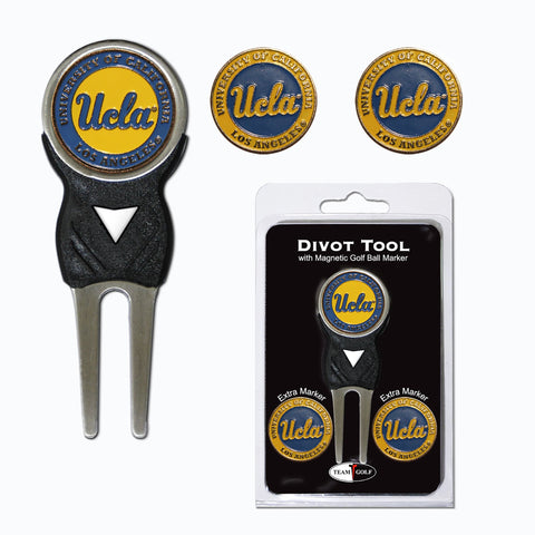 UCLA Bruins Divot Tool Pack With 3 Golf Ball Markers