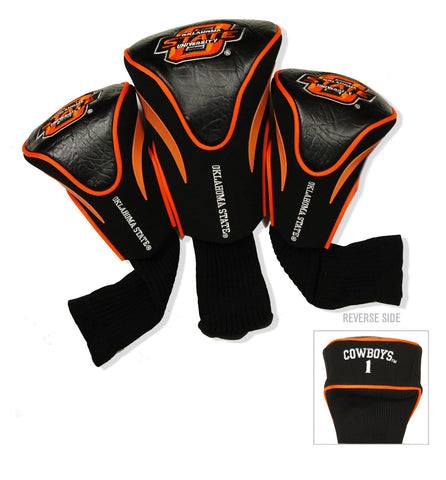 Oklahoma State Cowboys 3 Pack Contour Head Covers