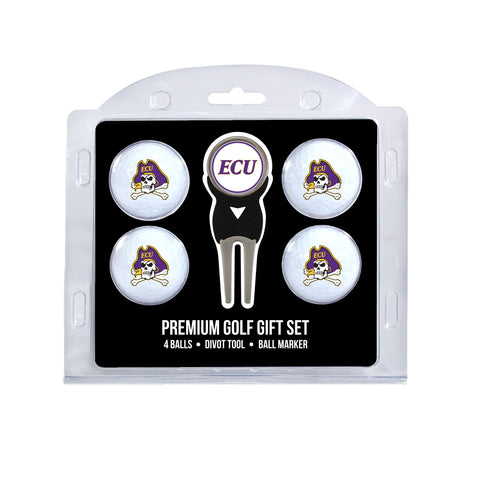 East Carolina Pirates 4 Golf Ball And Divot Tool Set