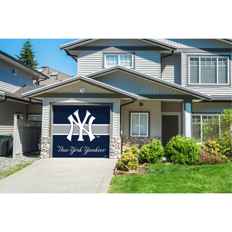 New York Yankees Single Garage Door Cover