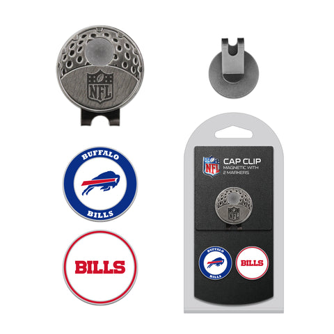 Buffalo Bills Cap Clip With 2 Golf Ball Markers