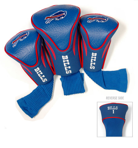 Buffalo Bills 3 Pack Contour Head Covers