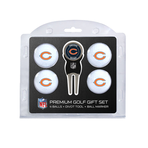 Chicago Bears 4 Golf Ball And Divot Tool Set