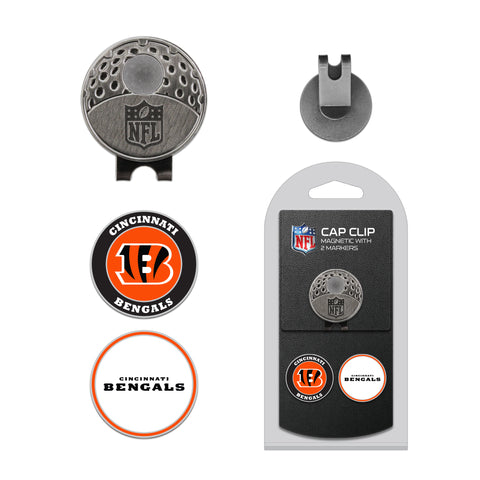 Cincinnati Bengals Cap Clip With 2 Golf Ball Markers