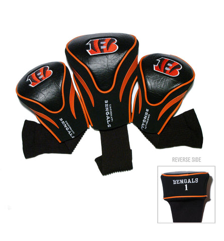 Cincinnati Bengals 3 Pack Contour Head Covers