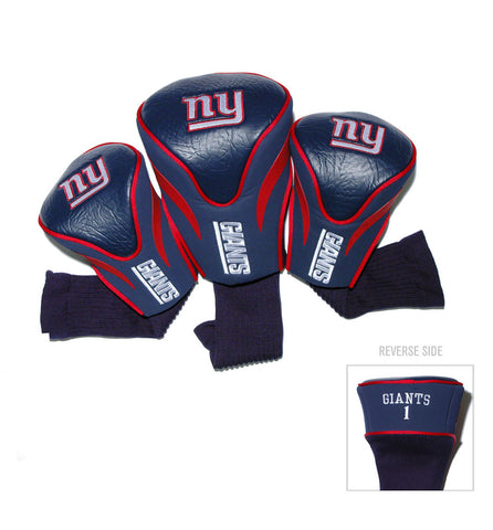 New York Giants 3 Pack Contour Head Covers