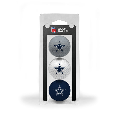 Dallas Cowboys 3 Golf Ball Pack