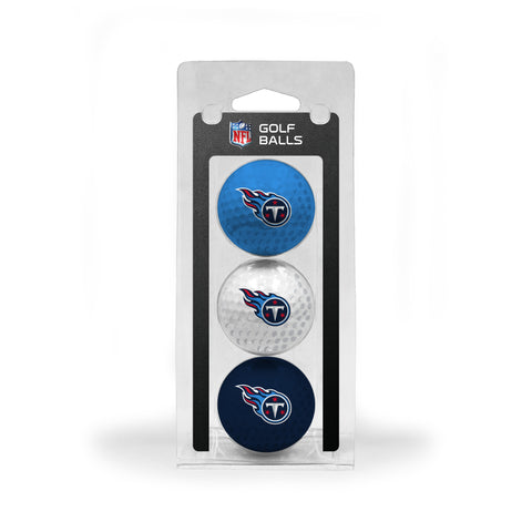 Tennessee Titans 3 Golf Ball Pack
