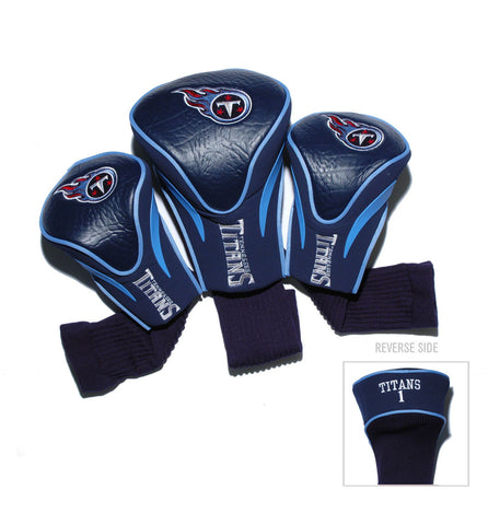 Tennessee Titans 3 Pack Contour Head Covers