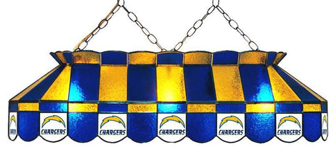 "Los Angeles Chargers 40"" Glass Lamp"