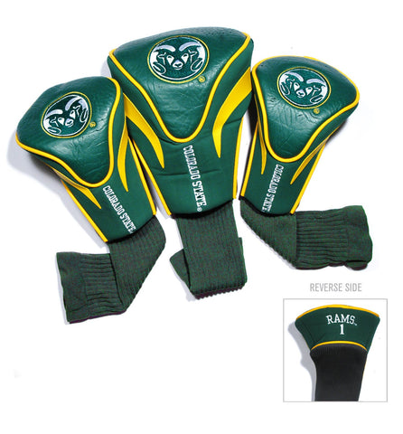 Colorado State Rams 3 Pack Contour Head Covers