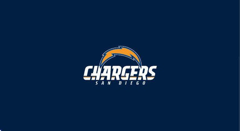 Los Angeles Chargers 8' Billiard Cloth