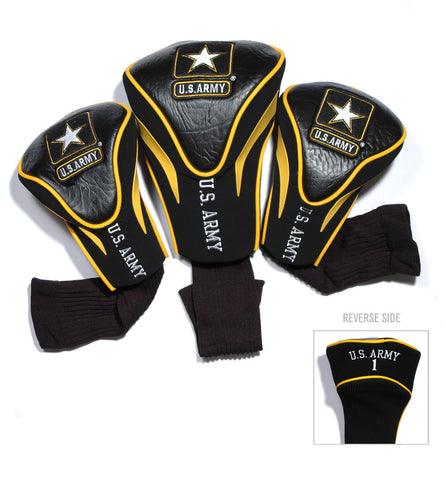 Army Black Knights 3 Pack Contour Head Covers