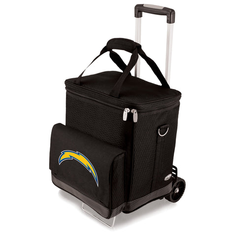 Los Angeles Chargers Cellar Wine Cooler w/Trolley